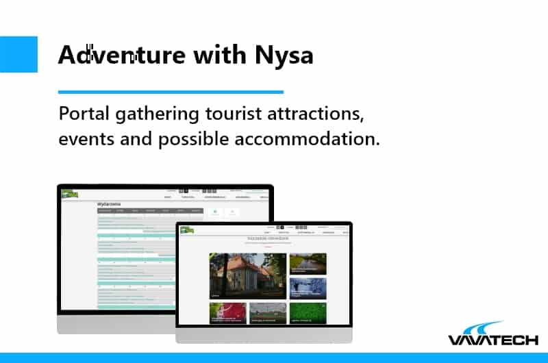 Multilingual tourist platform made in PHP by Vavatech